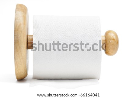 This is a Tissue in islated shot - stock photo