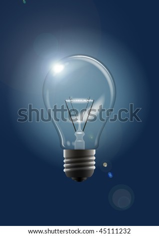 This is an illustration of an electric bulb.