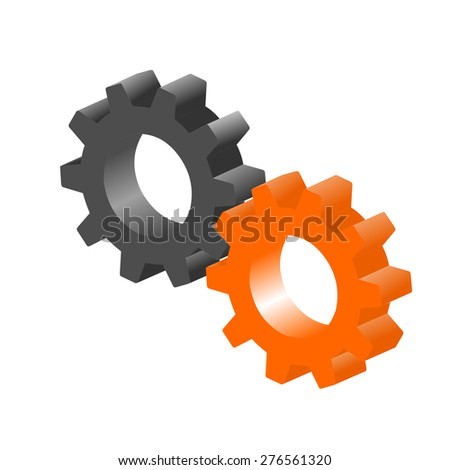this is logo team work - stock photo