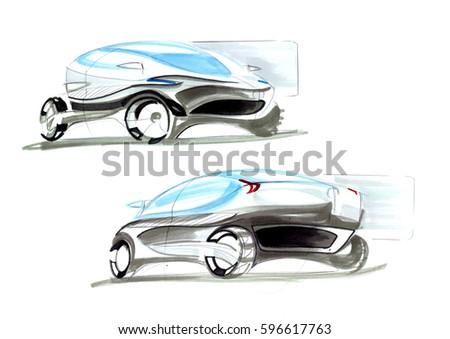 car sketching tutorial pdf free download