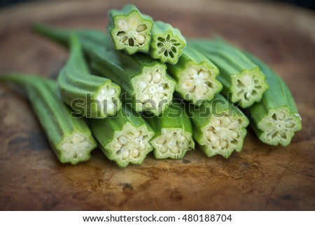 This is sliced Okra or Okro which is a flowering plant in the mallow family. It is a Southern dish that is a favorite as fried or used in gumbo. They are also known as ladies fingers.