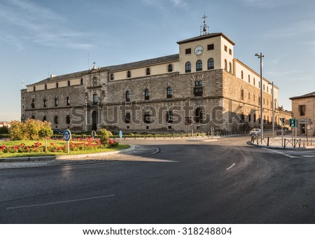 This 16th-century Greco-Roman palace north of the medieval ramparts of Toledo was originally built by Cardinal Tavera