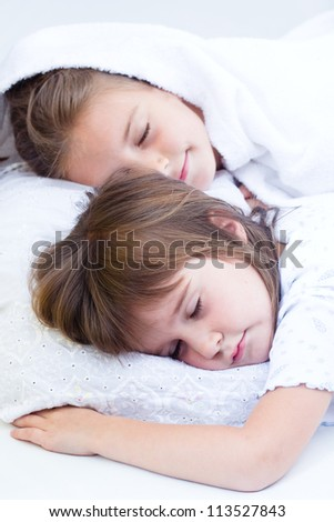 Little Girl Sleeping Stock Photos Royalty Free Images