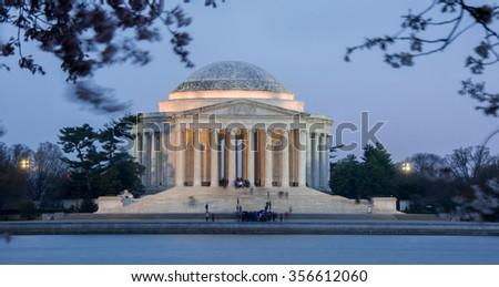 Thomas Jefferson Memorial, National Mall, Washington D.C. - stock photo