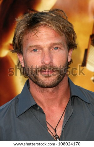 """Thomas Kretschmann  at the World Premiere of """"Wanted"""". Mann Village Westwood, Westwood, CA. 06-19-08 - stock photo"""