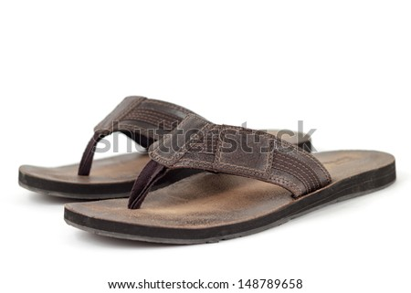 Thong Sandals - stock photo