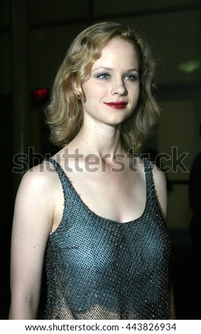 Thora Birch at the Los Angeles premiere of 'Silver City' at the Arclight Cinerama Dome in Hollywood, USA on September 14, 2004.