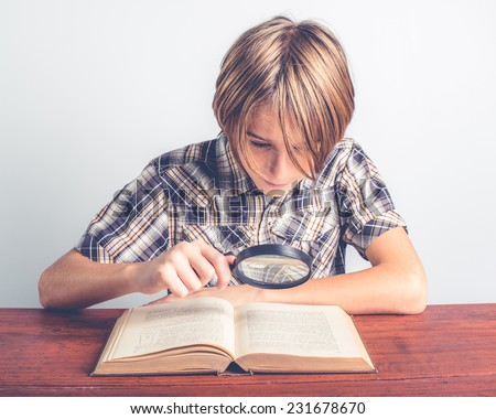 thorough knowledge - stock photo