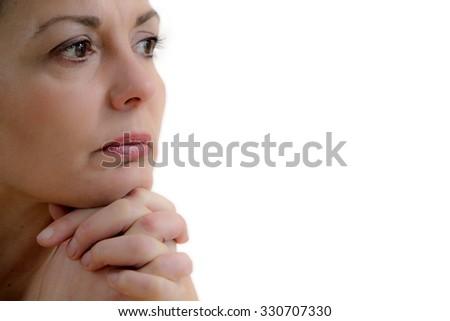 thoughtfulness - stock photo