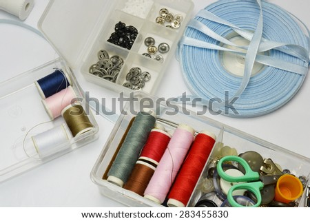 thread and bottons