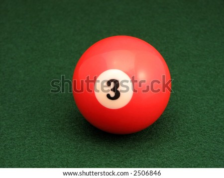 Three Ball - stock photo