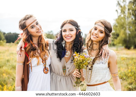 Three redhead girls
