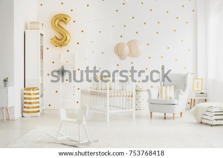 living room lamp shades. Three big  beige lampshades hanging above bed for baby in bedroom with dotted wall Lampshade Stock Images Royalty Free Vectors Shutterstock