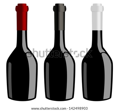Three bottles of wine