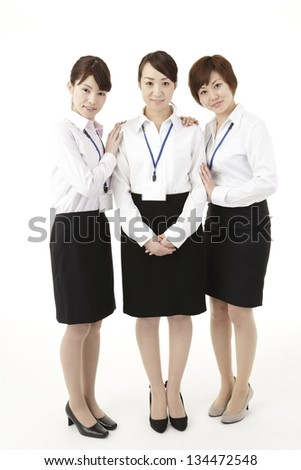 Three business image, woman