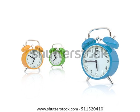 Three Clocks