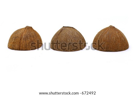 Three Coconut Shells