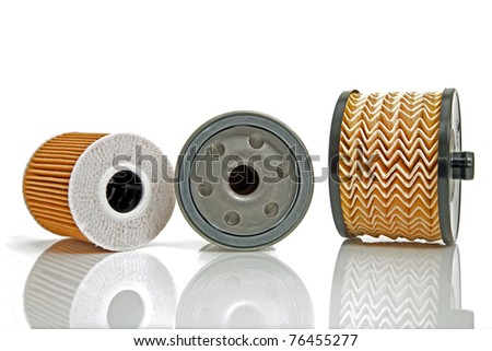 three different filters - stock photo