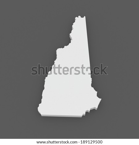 Map New Hampshire Map Concept Stock Vector Shutterstock - New hampshire us map