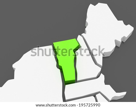 Vermont Map Stock Images RoyaltyFree Images Vectors Shutterstock - Map of usa vermont