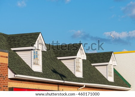 Three dormer windows