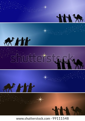 Three kings - stock photo