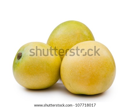 Three Mango Fruits