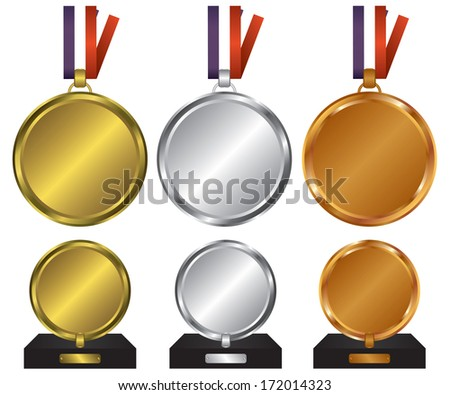 Three medals for the winners
