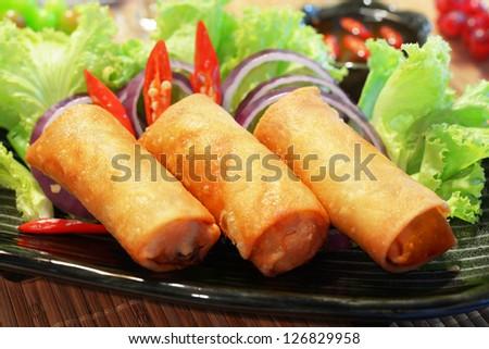 three piece of fried chicken on dish