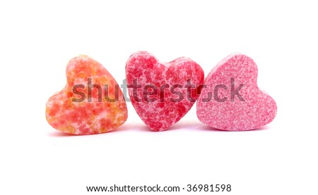 Three sweet hearts