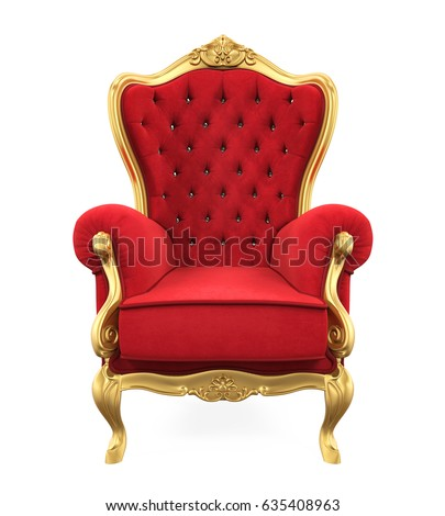 Queen chair stock images royalty free images vectors for Chaise 3d dessin