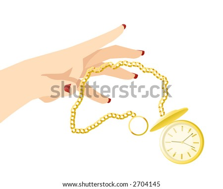 Throwing Away Time - stock photo