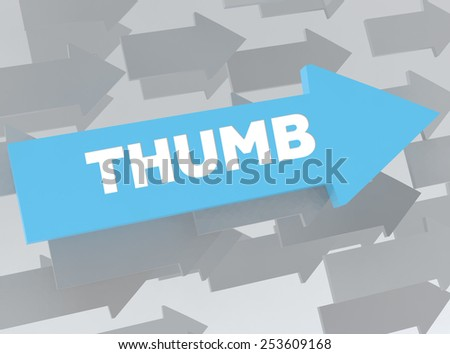 THUMB - stock photo