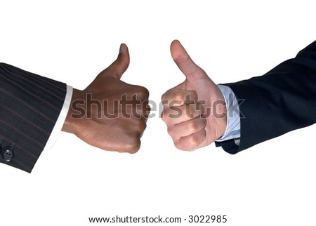 thumbs up for two!