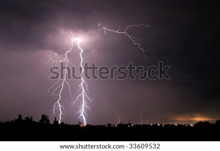 Thunderbolt - stock photo