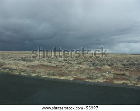 Thunderstorm In New Mexico