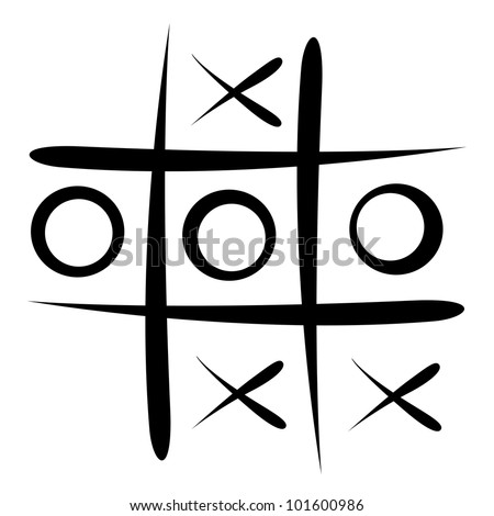 Tic Tac Toe Game Stock Illustration 101600986 - Shutterstock