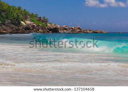 Tide Sea Beach - stock photo