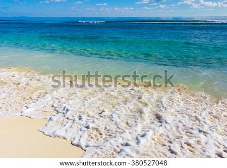 Tide Sea Scene  - stock photo