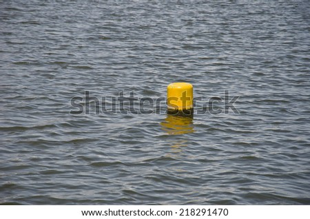 Tide, the water level - stock photo