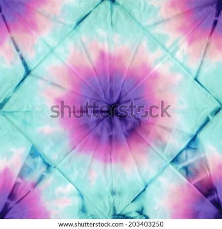 tie dye fabric texture background  - stock photo