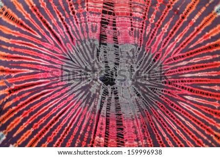 Tie dye pattern - stock photo