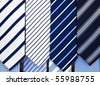 tie on the market - stock photo