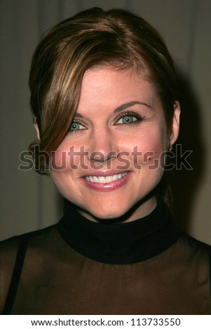 Tiffani Thiessen at the 6th Annual Awards Season Diamond Fashion Show Preview hosted by Diamond Information Center and InStyle Magazine. Beverly Hills Hotel, Beverly Hills, CA. 01-11-07 - stock photo
