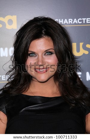 "Tiffani Thiessen at USA Network and Moth present ""A More Perfect Union: Sories of Prejudice and Power,""  Pacific Design Center, Los Angeles, CA 02-15-12"