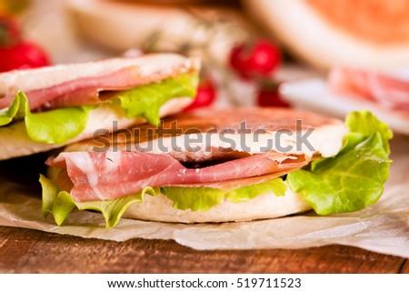 stock-photo-tigella-bread-stuffed-with-h