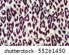 tiger fabric purple - stock photo