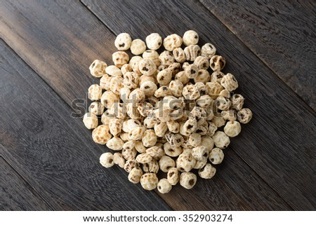 tiger nuts - stock photo