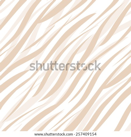 Tiger or zebra wild skin fur leather seamless pattern ornament background  - stock photo