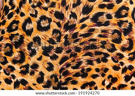 tiger pattern - fabric seamless - stock photo